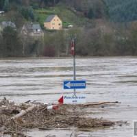 Photo: Anna Deckmann  Mosel Moselhochwasser Hochwasser - 5VIER