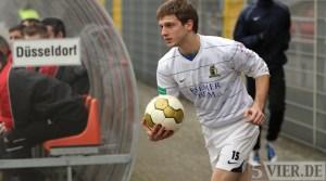 20110219 Duesseldorf II - SVE, Regionalliga West, Zittlau, Foto: Anna Lena Bauer - 5VIER