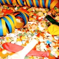 Fasching Karneval Luftschlangen - 5VIER