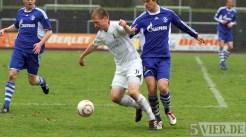 20110403 SchalkeII - SVE, Regionalliga West. Eckstein. Foto: Anna Lena Bauer - 5VIER