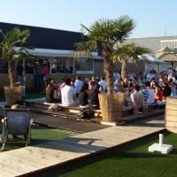 Die Sky Lounge auf dem Karstadt-Dach - 5VIER