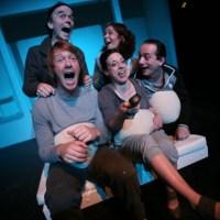 Globalisierung durch Fernsehen. Foto: Theater Trier/Freidemann Vetter - 5VIER
