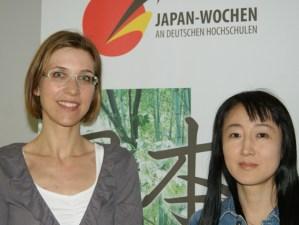 Dr. Kristina Iwata-Weickgenannt und Yu Miri. Foto: Maike Petersen - 5VIER