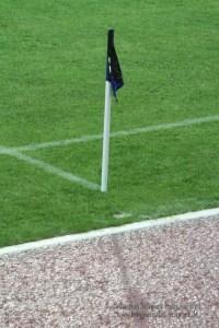 Eckfahne Füllbild, Eintracht Trier - Wiedenbrück, Foto: Sebastian Schwarz - 5VIER