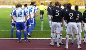 Vor dem Spiel begegneten sich Konz und Dörbach noch auf Augenhöhe. 5vier-Foto: Vinzenz Anton