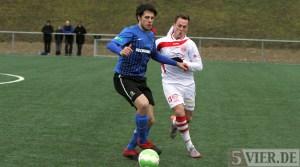 20120122 Grevenmacher-Eintracht Trier, Hollmann, Testspiel, Foto: Anna Lena Grasmueck - 5VIER