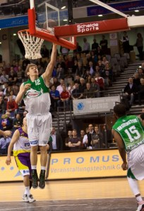Einwechselspieler Andreas Seiferth erzielte sechs Punkte. Foto: Helmut Thewalt