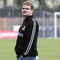 20120310 Eintracht Trier - KoelnII, Regionalliga West, Martin Köbler, Köbi, Stadionsprecher, Foto: Anna Lena Grasmueck - 5VIER