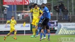 20120425 Pokal Eintracht Trier-TuS Koblenz, Karikari, Bitburger Rheinlandpokal, Viertelfinale, Foto: Anna Lena Grasmueck - 5VIER