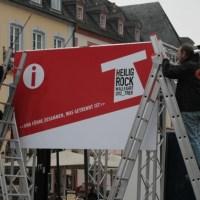 Die Bauarbeiten für die Wallfahrt sind in vollem Gange. Foto. 5vier.de - 5VIER