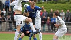 20120508 Pokal TuS Mayen - Eintracht Trier, Denny Herzig, Bitburger Rheinlandpokal, Foto: Anna Lena Grasmueck - 5VIER