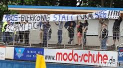20120511 Eintracht Trier - Lotte, Regionalliga West, Spruchband, Foto: Anna Lena Grasmueck - 5VIER