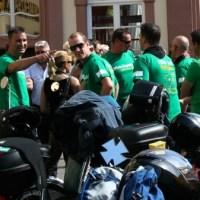 Nestwärme e.V. Mofa-Rallye 2012 Start an der Porta Nigra - 5VIER