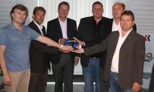 Pressekonferenz Eintracht Trier, Romika, Vorstand, Regionalliga Südwest - 5VIER