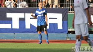 20120822 Eintracht Trier - Eintracht Frankfurt II, Abelski, Regionalliga Suedwest, Foto: Anna Lena Grasmueck - 5VIER