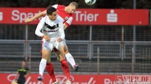 20120831 Eintracht Trier - Wormatia Worms, Regionalliga Suedwest, Pagenburg, Foto: Anna Lena Grasmueck - 5VIER