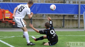 20120826 FSV Frankfurt II - Eintracht Trier, Regionalliga Suedwest, Foto: Anna Lena Grasmueck - 5VIER