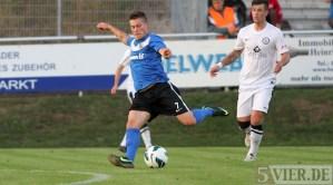 20120905 SC Idar-Oberstein - Eintracht Trier, Lewerenz, Regionalliga Suedwest, Foto: Anna Lena Grasmueck - 5VIER