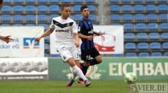 20120915 Mannheim - Eintracht Trier, Regionalliga Südwest, Abelski, Foto: Anna Lena Grasmueck - 5VIER