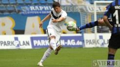 20120915 Mannheim - Eintracht Trier, Regionalliga Südwest, Klinger, Foto: Anna Lena Grasmueck - 5VIER