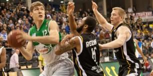 Basketball: TBB verliert Krimi gegen Phantome. Foto: Thewalt