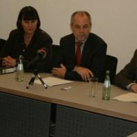 Pressekonferenz zum Unfall - 5VIER