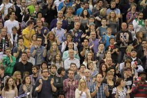 TBB Trier, Fans. Foto: Sebastian Schwarz