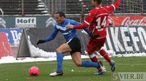 20130112 Testspiel Eintracht Trier - 1. FC Kaiserslautern,  Brighache, Foto: www.5vier.de - 5VIER
