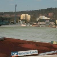 Moselstadion, Schnee, Winter - 5VIER