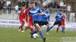 20130310 Worms - Eintracht Trier, Regionalliga Suedwest, Zittlau, Foto: www.5vier.de - 5VIER
