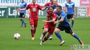 20130427 FCK II - Eintracht Trier, Regionalliga Suedwest, Lewerenz, Foto: www.5vier.de - 5VIER