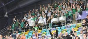 TBB Trier, Fans. Foto: Lisa Löwe