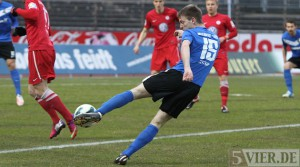 Kehrt wohl in die Startelf zurück: Fabian Zittlau (Foto: 5vier.de)