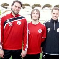 Gustav Schulz, Daniel Schraps, Markus Schottes, Alexander Adrian, Johannes Kühne (v.l.). - 5VIER