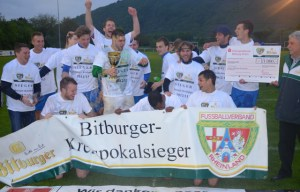 Die DJK St. Matthias will als Kreispokalsieger nun auch den Rheinlandpokal aufmischen.