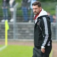 20130529 FSV Salmrohr gegen Eintracht Trier, Rheinlandpokalfinale, Trainer Patrick Klyk, Foto: www.5vier.de - 5VIER