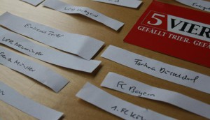 5vier-Auslosung im DFB-Pokal