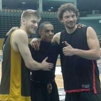 Mathis Mönninghoff, Anthony Cranty und Stefan Schmidt Foto: Stephen Weber - 5VIER