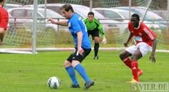 20130628 Testspiel SVE - Fola Esch, Eintracht Trier, Testspieler Hartwig, Foto: 5vier.de - 5VIER