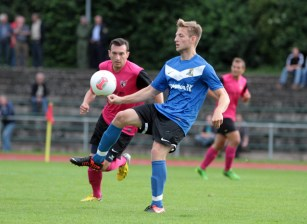 SG Wittlich - Eintracht Trier, Timo Kern. Foto: Sebastian Schwarz