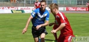 20130817 Eintracht Trier - Kaiserslautern II, Zittlau, Foto: 5vier.de - 5VIER