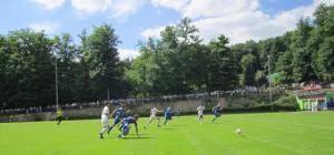 Die SG Wittlich kam in zum Ende des Spiels oft einen Schritt zu spät Foto: Benedikt Rupp