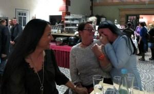 Hatten viel Spaß: Shirley Winter, Petra Moske und Elena Villa
