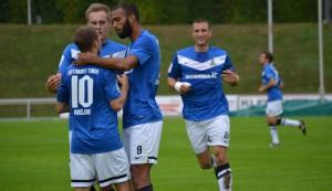 KSV Baunatal-Eintracht Trier. A. Heinen.