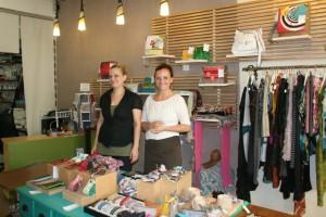 Anna Isaeva und Sandra Westphal