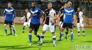 20131025 Eintracht Trier - Frankfurt II, Regionalliga Suedwest, Comvalius, Foto: www.5vier.de - 5VIER