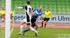 20131012 SSV Ulm - Eintracht Trier, Regionalliga Suedwest, Buchner, Foto:www.5vier.de - 5VIER