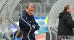 20131012 SSV Ulm - Eintracht Trier, Regionalliga Suedwest, Trainer Roland Seitz, Foto:www.5vier.de - 5VIER
