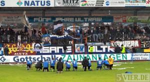 Eintracht - Neckarelz - Dingels Zaun