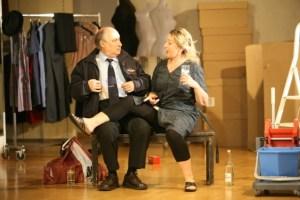 Angelika Schmid und Hans-Peter Leu in JOSEF UND MARIA (Foto: Friedemann Vetter).